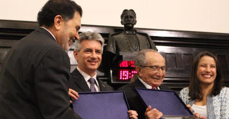 Homenagem na Assembleia Legislativa de Pernambuco