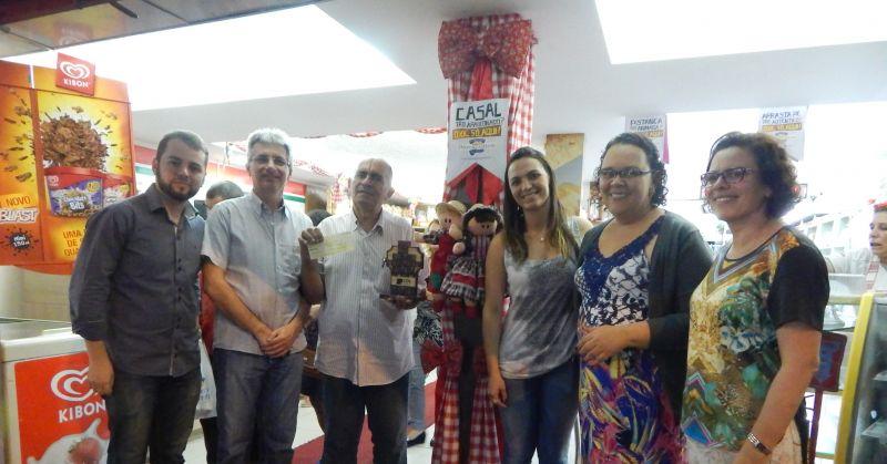 Entrega do Prêmio Lojas Juninas CDL