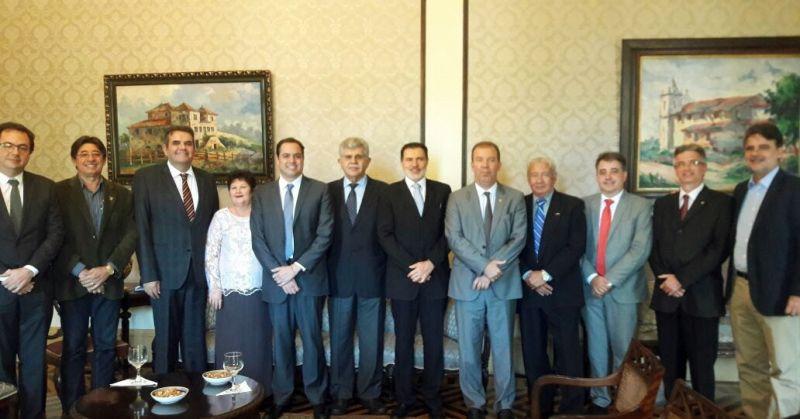 Dirigentes Lojistas de Pernambuco se reúnem com governador